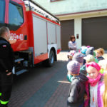 Wycieczka do Ochotniczej Straży Pożarnej w Niemysłowie