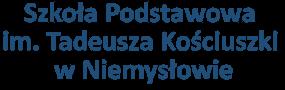 Szkoła Podstawowa  im. Tadeusza Kościuszki w Niemysłowie
